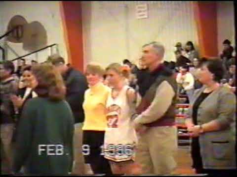 Hobgood Academy Sr Night- Basketball 1996