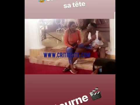 Watch Stanley Enow Flirting With Instagram Model Eza Adjara