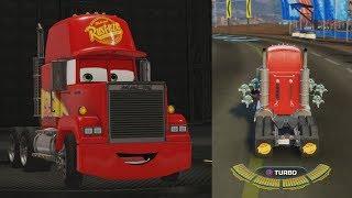Cars 3 - Thomasville Playground - All 10 Mack Hat Locations (Mack Unlock + Gameplay)