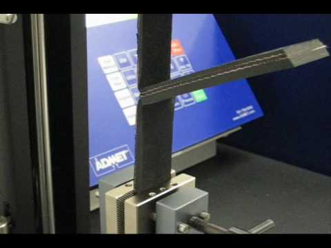 Rubber Adhesion Peel Test Youtube