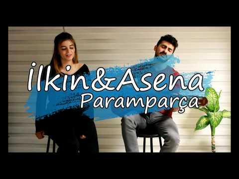 """İlkin&Asena """"Paramparca"""" (COVER) Halil Sezai"""