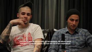 Trivium habla sobre el nuevo álbum en Rod Laver Arena