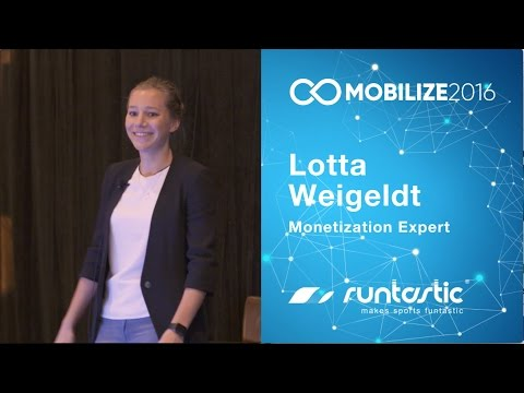 Mobilize 2016 | Monetization Case Study: Growing Runtastic 5