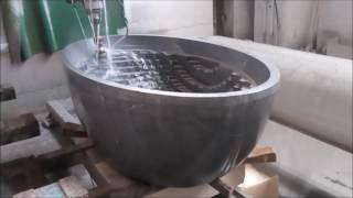 видео Раковина из камня для ванной - литые, мраморные и гранитные