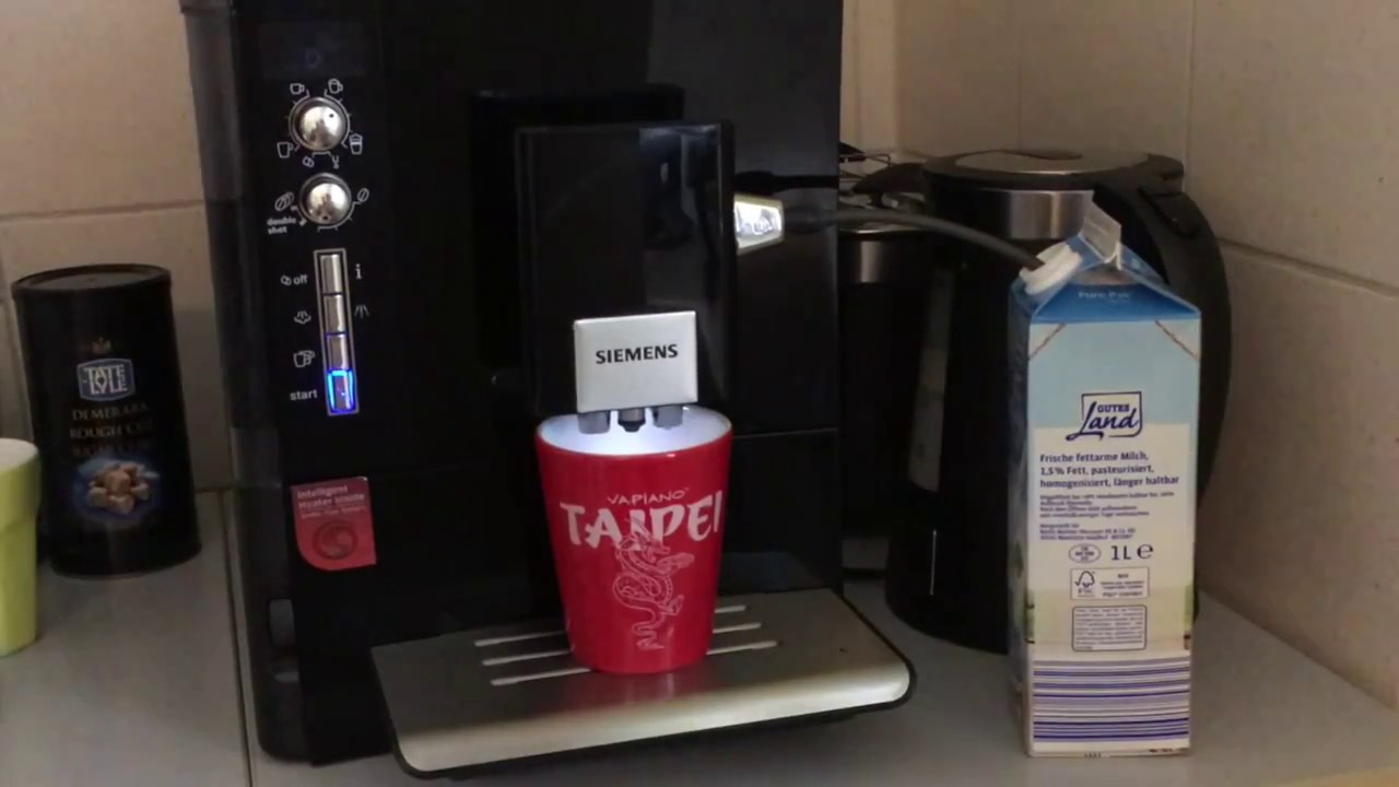 siemens eq 5 very simple diy milk creamer fix youtube. Black Bedroom Furniture Sets. Home Design Ideas