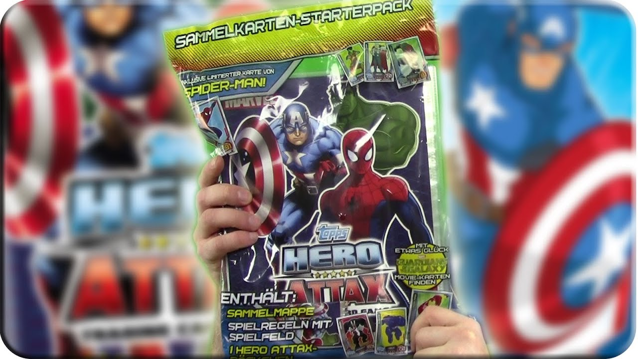 Nuevo ataque Topps Slam Trading Card Starter Pack