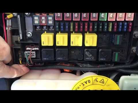 Isuzu Npr Abs Wiring Diagram Landrover Discovery 2 Relay Chatter Youtube