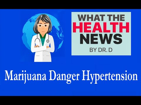 Is Pot Associated with Bloodstream Pressure Deaths
