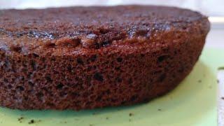 Шоколадный бисквит на сковороде