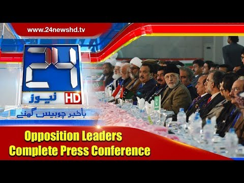 Opposition Leaders Full Press Conference | 30 December 2017