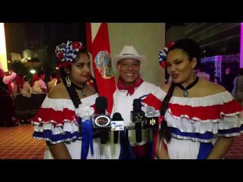 Grupo de Costa Rica apoyando la independencia de mexico