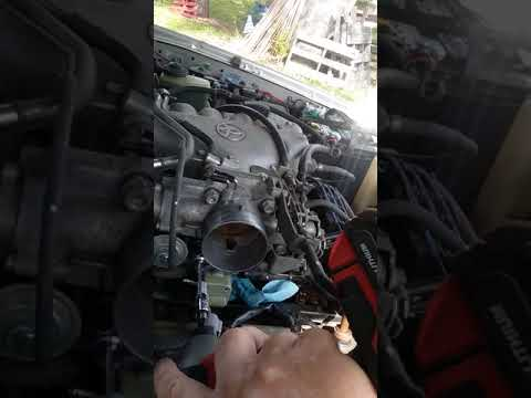 2000 Toyota 4Runner 3.4 liter IAC valve removal and installation.