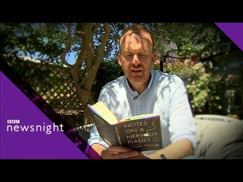 Matt Haig on social media and our well-being - BBC Newsnight