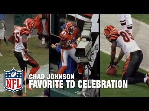 Chad Johnson Reveals His Favorite TD Celebration | Chad Johnson: A Football Life | NFL Films