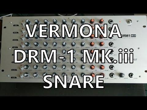 Vermona DRM1 Pt. 05 - Snare