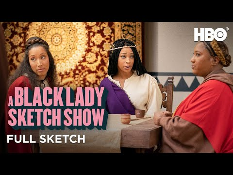 A Black Lady Sketch Show: The Last Supp-her (Full Sketch)   HBO
