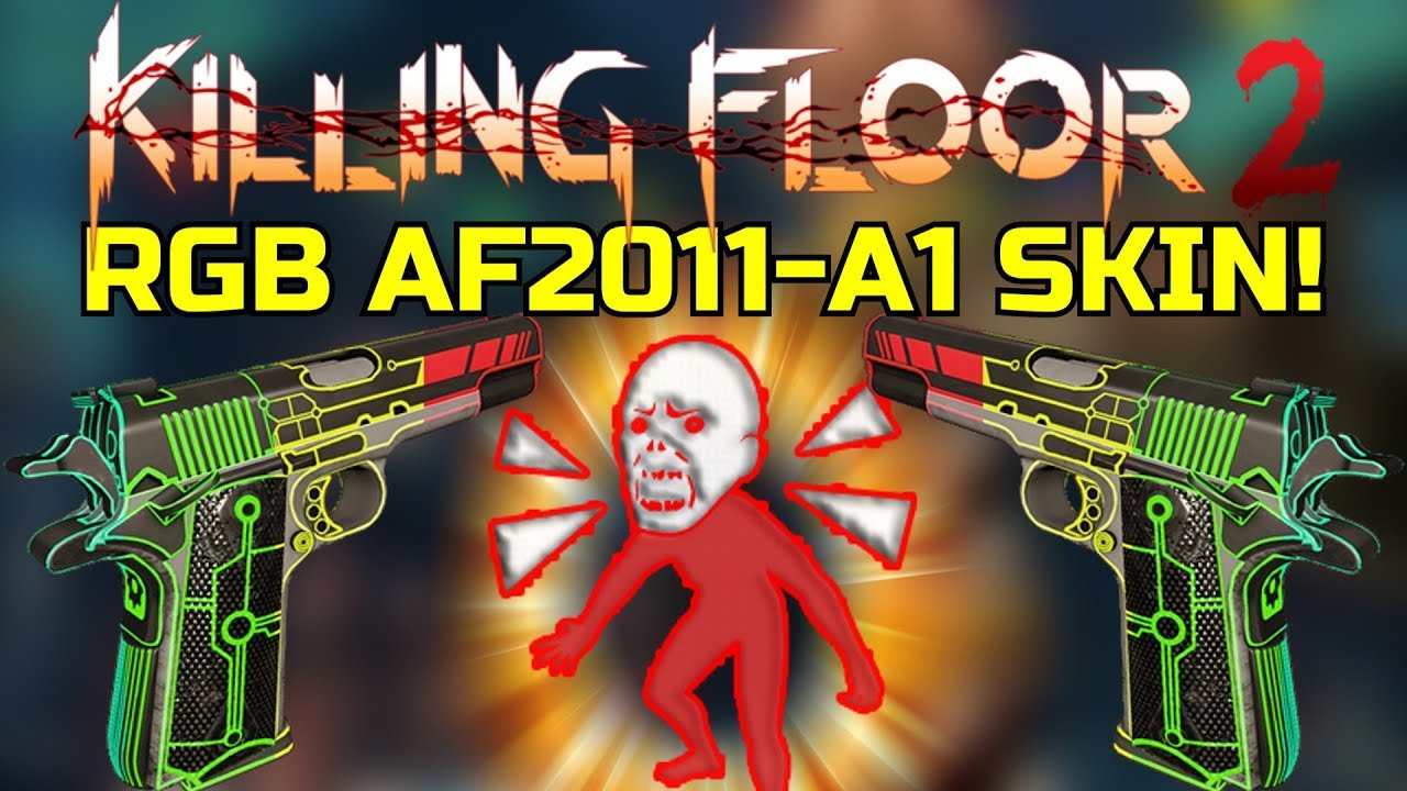 Af2011 A1 killing floor 2 | playing with the rgb af2011-a1! bobble zed with a festive  arena!