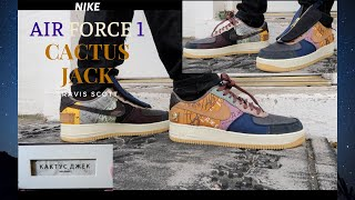 """Nike Air Force 1 x """"CACTUS JACK"""" (Review + On Feet) *Early Look*"""