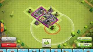 Clash of Clans Attacks - Town Hall 7 Strategy and Tips! Part 1 of 2!