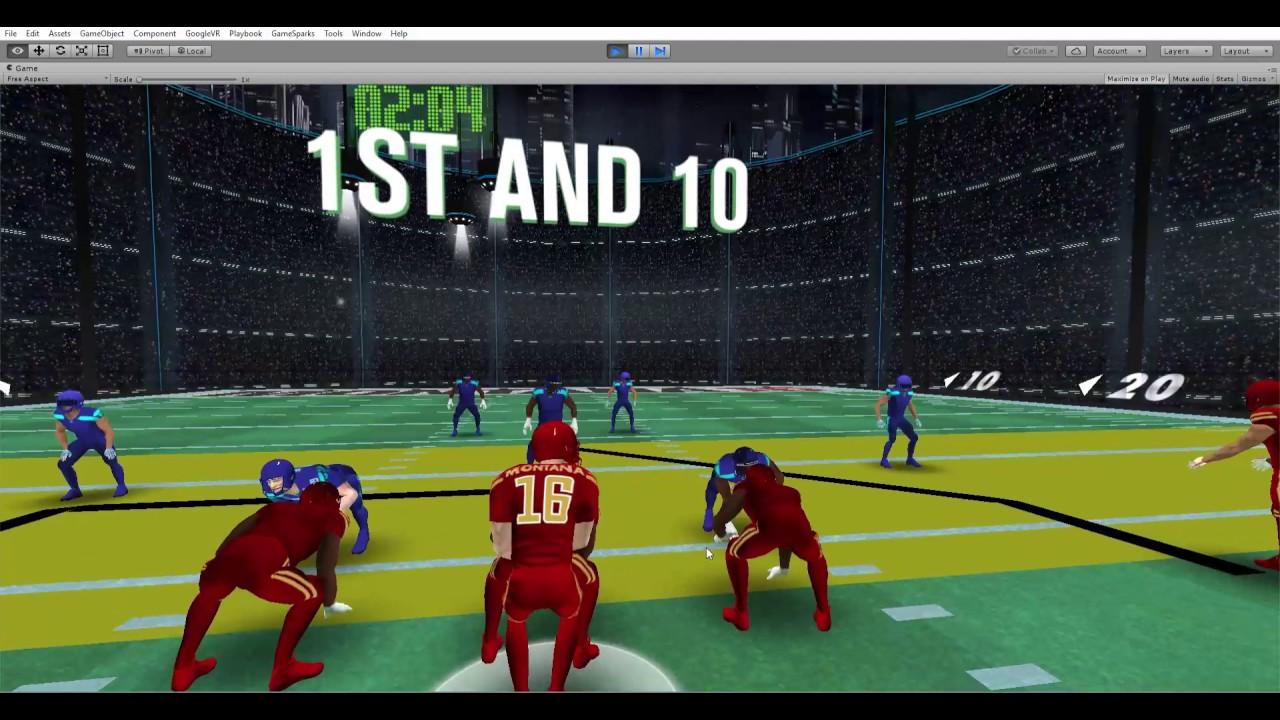 Montana 17: New virtual reality football game from Joe Montana