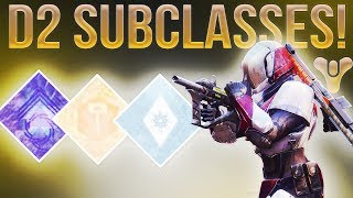 DESTINY 2 NEWS! (Proof Taken King Subclasses Are Coming Back In Destiny 2???)