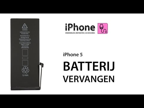 oplaadpoort iphone 5 vervangen