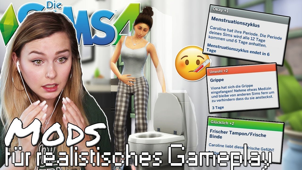 Sims Bekommen Ihre Periode Werden Krank Die Sims 4 Gameplay