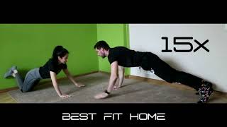 home fitness routine couple