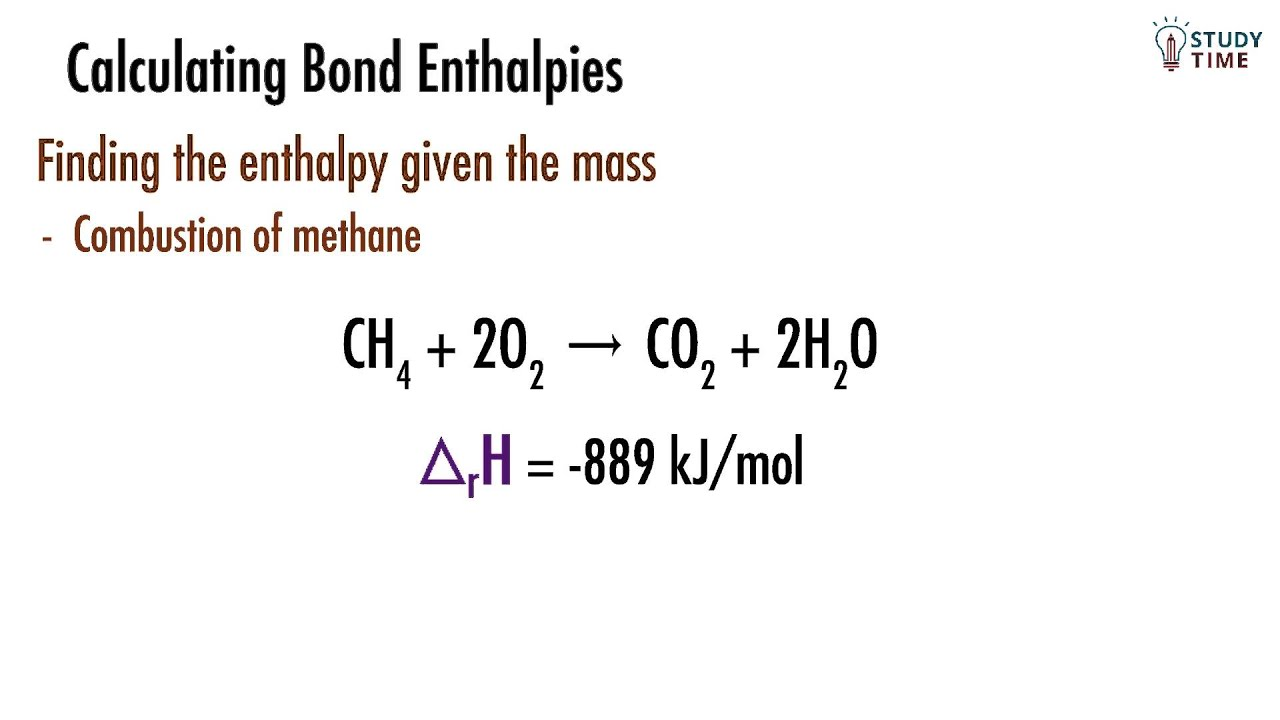 Determining Enthalpy using Moles & Mass (12/12) | Atomic Structure - NCEA  Level 2 Chemistry