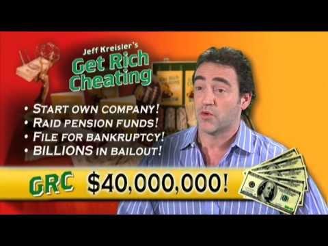 Get Rich Cheating Infomercial