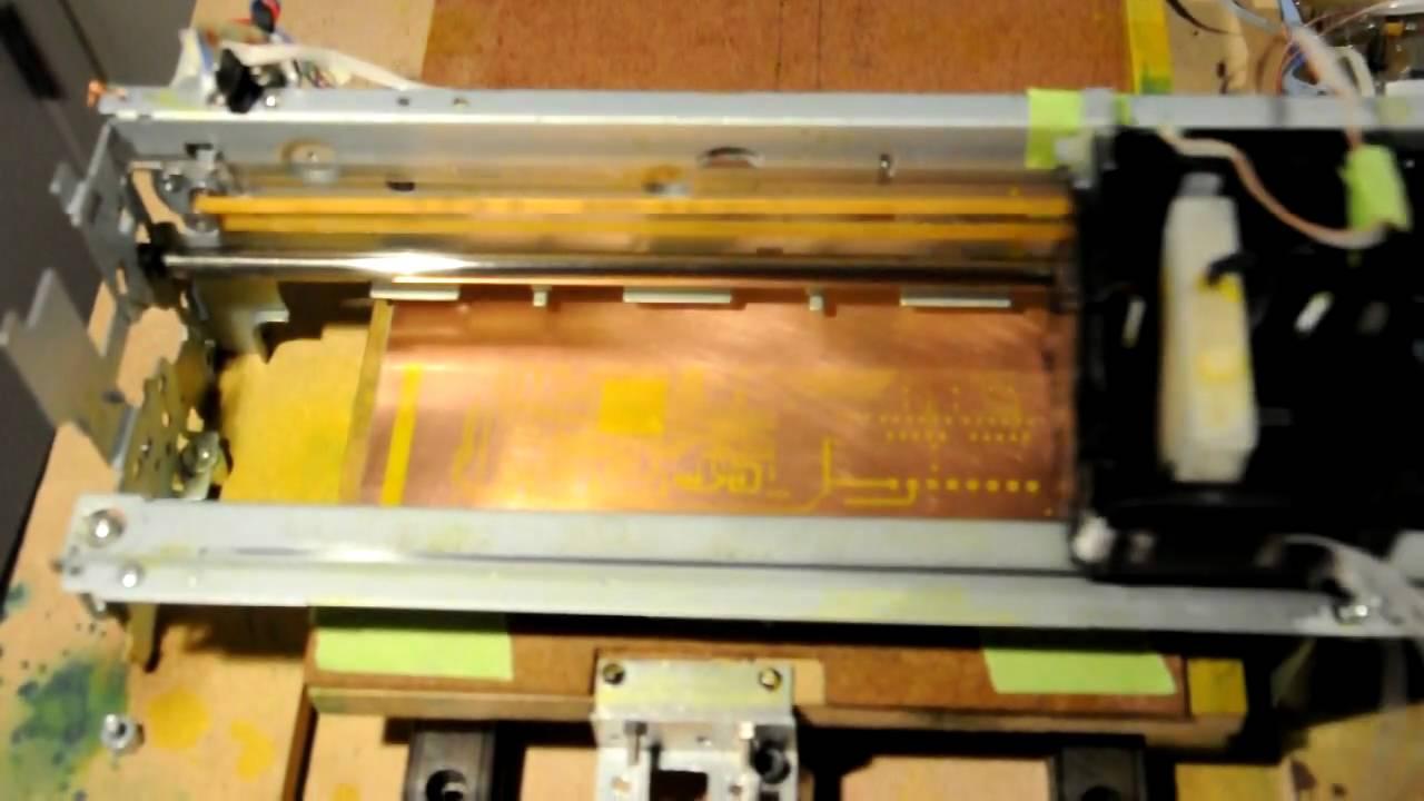 Homemade inkjet pcb printer-1
