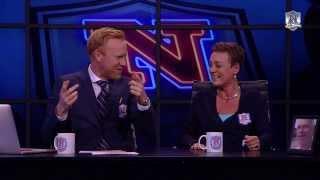 Janni Pedersen græder af grin over Janni Pedersen