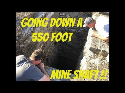 Searching For Bodies in a 550 foot  deep Mexican Mine Shaft!