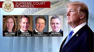 President to Name SCOTUS Nominee Tonight.