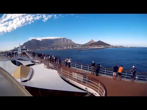 MSC Sinfonia Bok Radio, Cape Town - Walvisbaai cruise - 9 -13 Jan. 2017