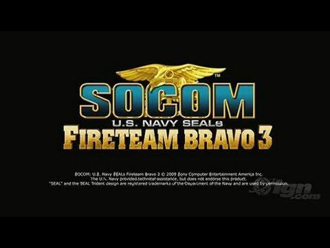 SOCOM: U.S. Navy SEALs Fireteam Bravo 3 Sony PSP Trailer -