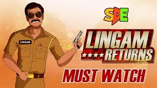 SINGHAM RETURNS TRAILER SPOOF || SHUDH DESI ENDINGS ||