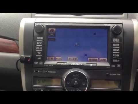 Подключение телефона по BlueTooth к штатному проигрывателю Toyota Allion 260