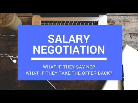 Salary Negotiation Counteroffer (With an EXAMPLE)