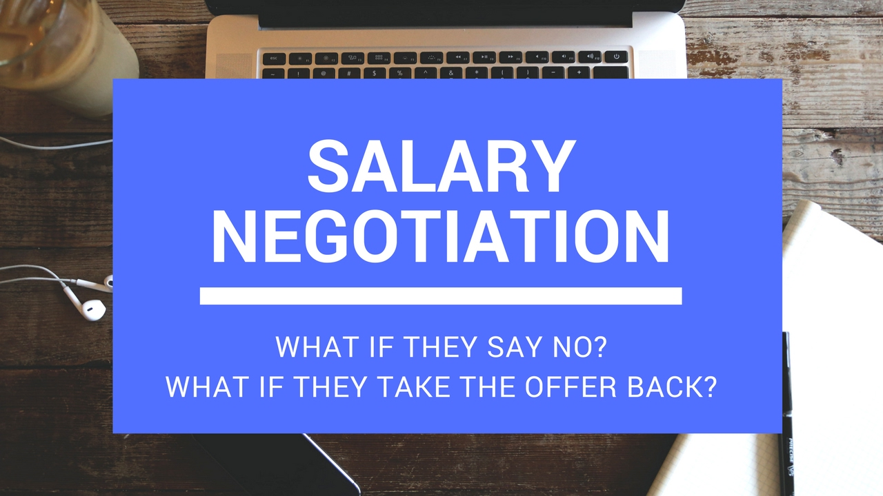 how to counter offer a salary