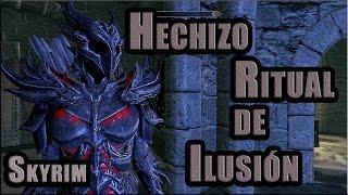 Skyrim-Tutorial-Hechizo Ritual de Ilusión
