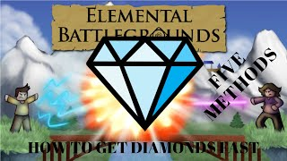 Elemental Battlegrounds: How to get diamonds fast (5 methods)