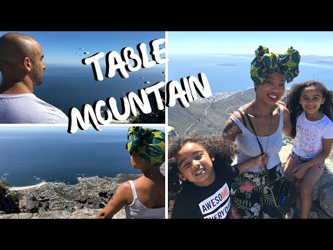 TABLE MOUNTAIN - Cape Town |  Travel Vlog | South Africa | Homeschooling | Things To Do In Cape Town