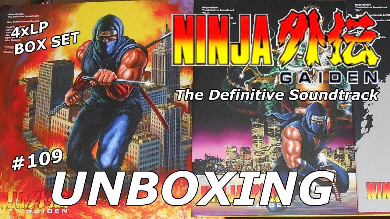 Ninja Gaiden The Definitive Soundtrack 4lp Box Set Unboxing