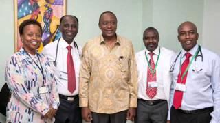 Video President Uhuru Kenyatta's visit to Karen Hospital download MP3, 3GP, MP4, WEBM, AVI, FLV September 2018