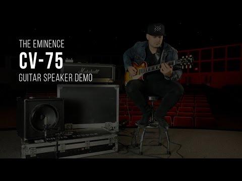"Eminence Legend 1275 12/"" 8 Ohm Lead Rhythm Guitar 75 W Replacement Speaker"