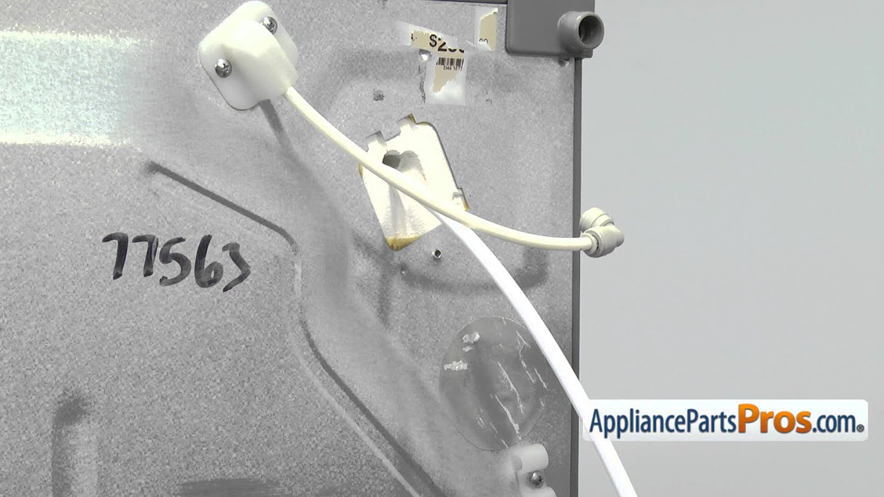 Refrigerator Water Line (part #5210JA3004U)  How To