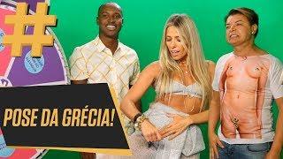 Bastidores do TVZ com David Brazil, Gominho e Thiaguinho | Adriane Galisteu