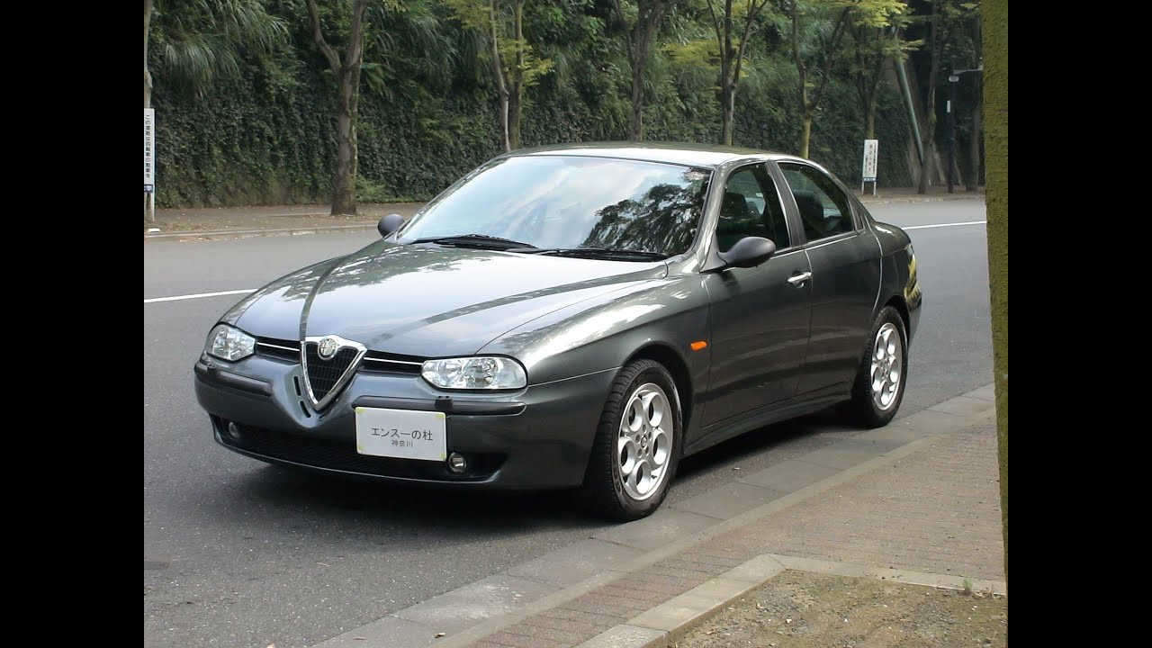 alfa romeo alfa 156 2 5 v6 24v 39 2002 youtube