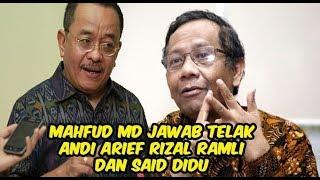 Setelah Jawab Andi Arief, Mahfud Md Kini Ladeni Rizal Ramli Said Didu